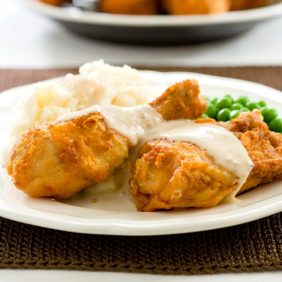 Authentic Maryland Fried Chicken and Gravy