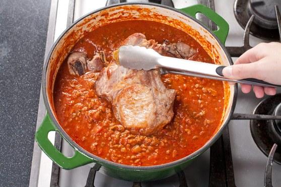 Stir in Meat